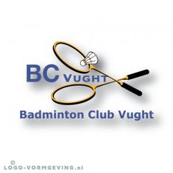 Vierkant-kader-Badminton